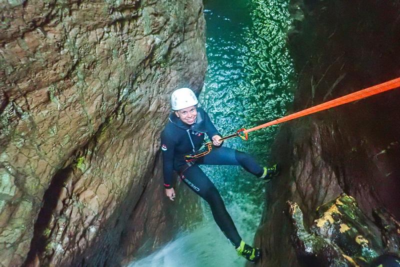 Aktivitäten in Bovec